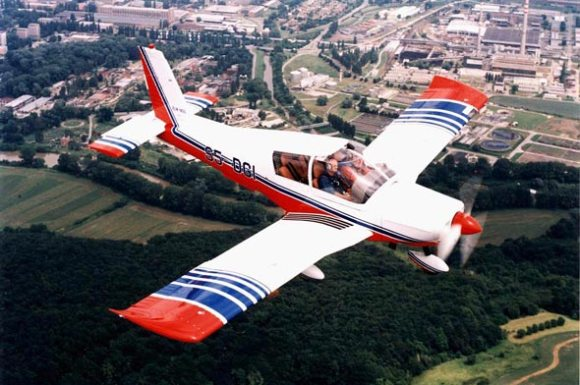 Orginal zlin 143 aircraft